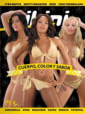 Patricia Fuenmayor, Dayra Lambis y Marjorie De Sousa. Chicas Pilsen