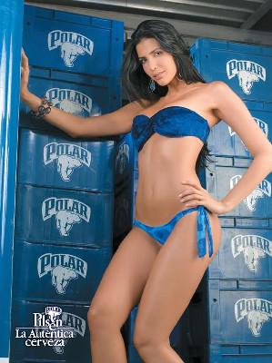 Chicas Pilsen 2007 en Urbe Bikini: Marjorie de Sousa, Dayra Lambis, ...