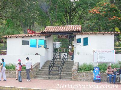 Paque Chorros de Milla. Mérida, Venezuela